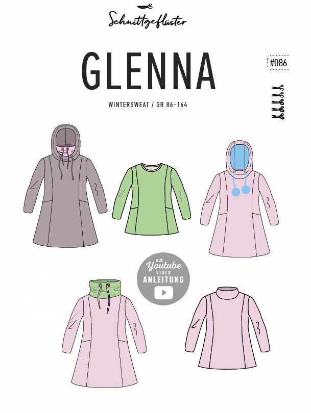Glenna 86-164 Papierschnitt